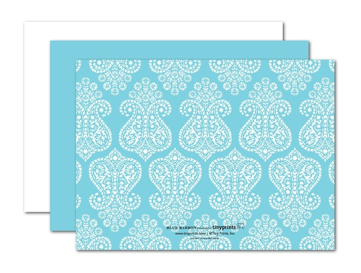 Tiffany Themed Bachelorette Party Invitations