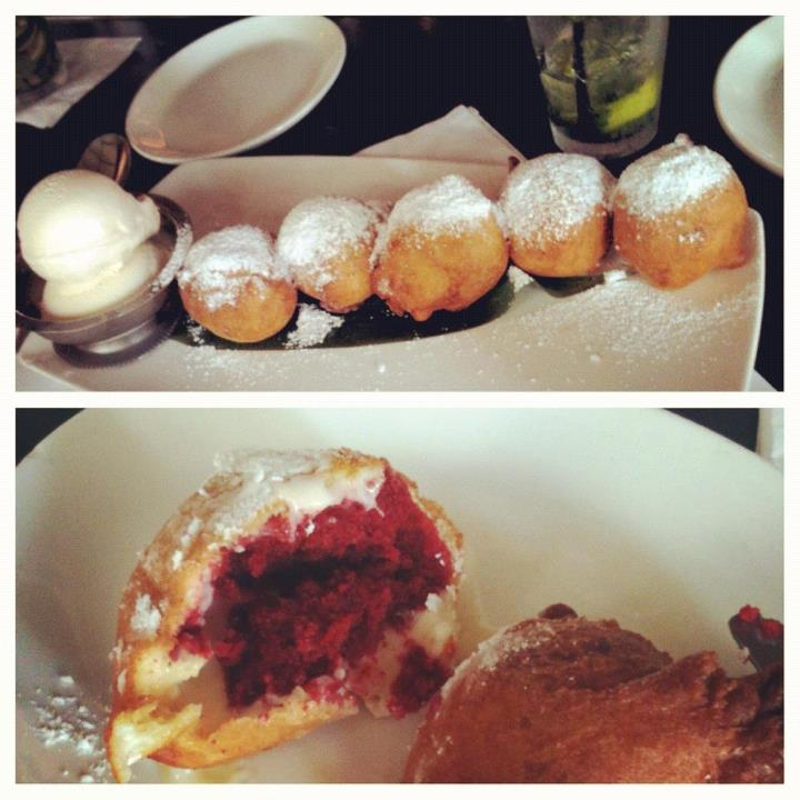 Deep Fried Red Velvet Cupcakes