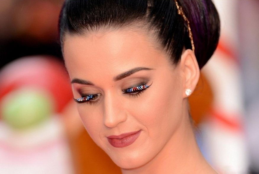 Katy Perry Glitter Blue False Lashes
