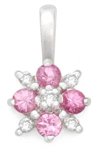 Pink Jewel Pendant 